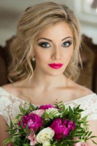 романтический стиль  свадебного образа