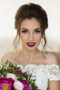 свадебный макияж в стиле смоки айс
