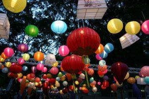 украшение вечеринки воздушными шарами фотография