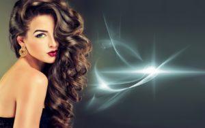 блестящий результат применения буст ап волос