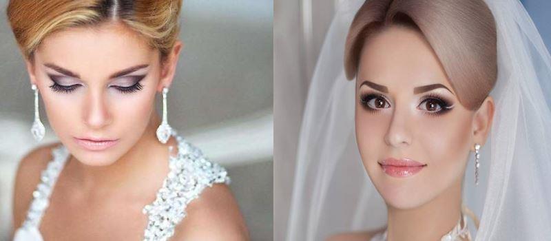 макияж глаз на свадьбу