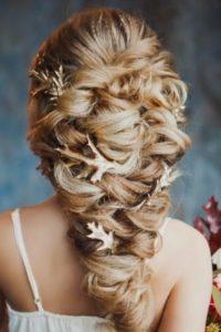 укладка греческая коса фото