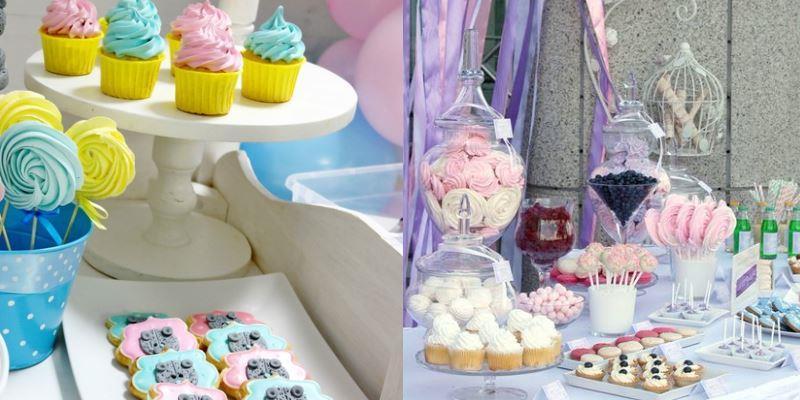 пирожные на свадьбе и празднике