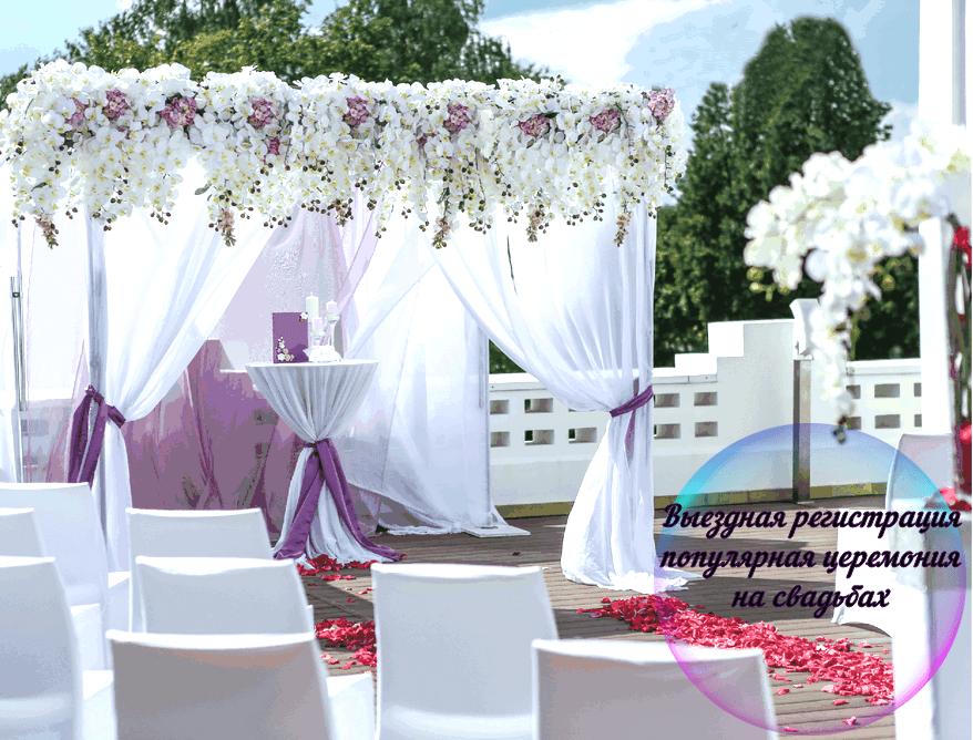 Выездная регистрация брака недорого