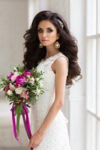 восточный стиль свадебного образа