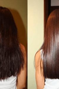 ламинирование и экранирование повысят блеск и шелковистость волос