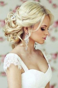 свадебный макияж в стиле смоки айс с затемнением уголков глаз