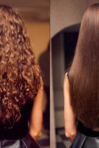 кератиновое выпрямление волос прекрасный результат