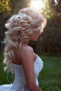 киприотская вечерняя укладка собранный хвост на длинные волосы