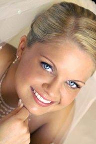 макияж на выпускной бал с применением светоотражающей пудры