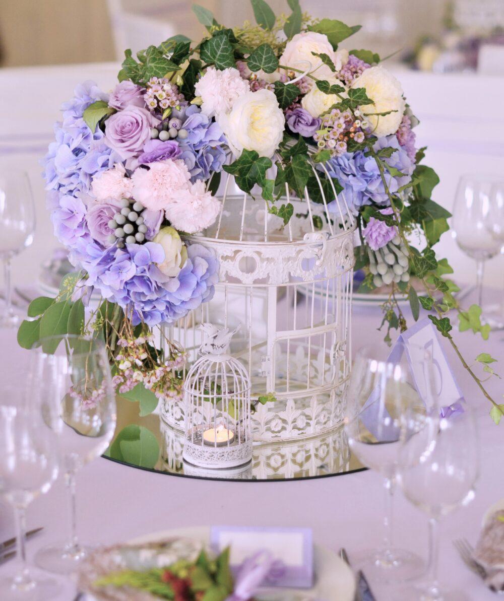 Оформление декором свадьбы