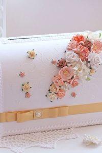 свадебный сундук для подарков купюр