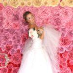 цветочная стена на свадьбу москва