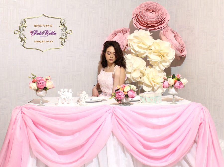 Свадьба в бело-розовом цвете