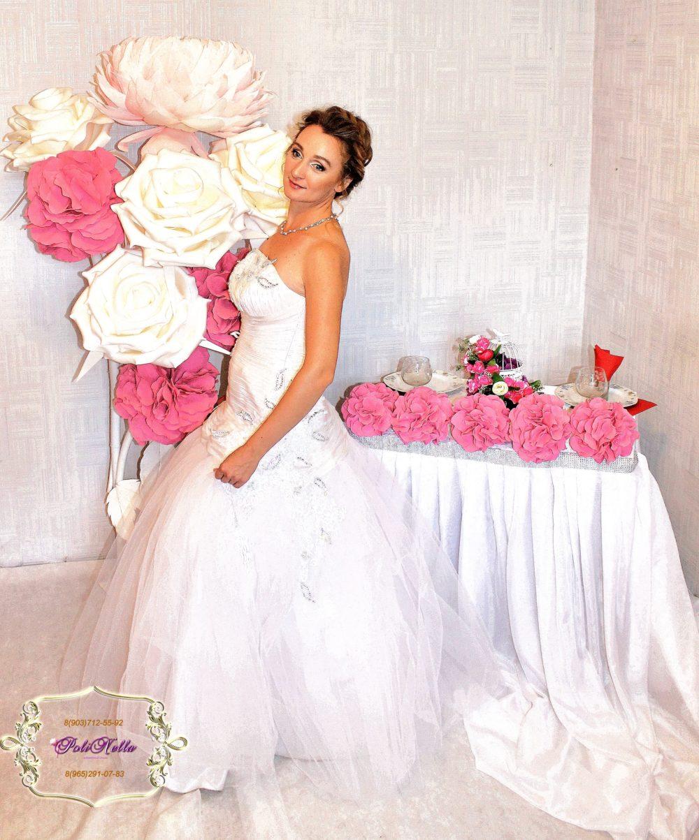 Макияж и прическа на свадьбу с выездом на дом в Москве