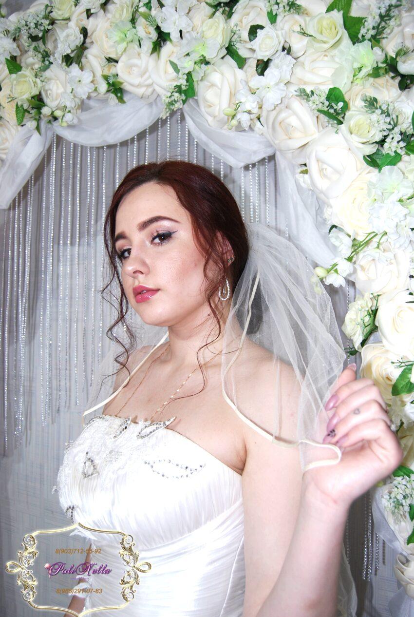 Макияж и прическа на свадьбу в Москве