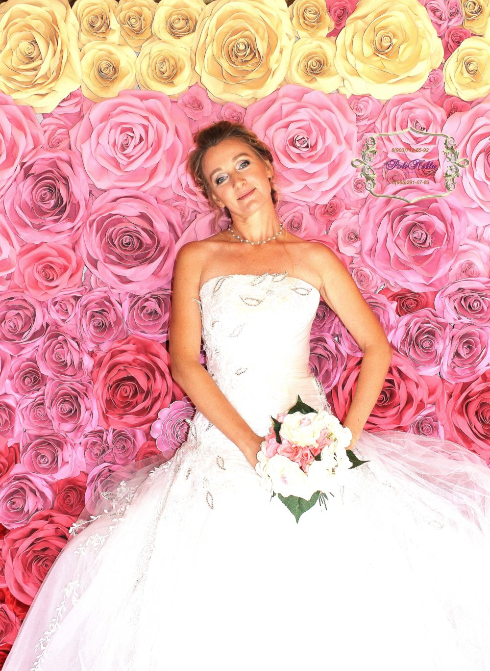Фотозона на свадьбу Дмитров