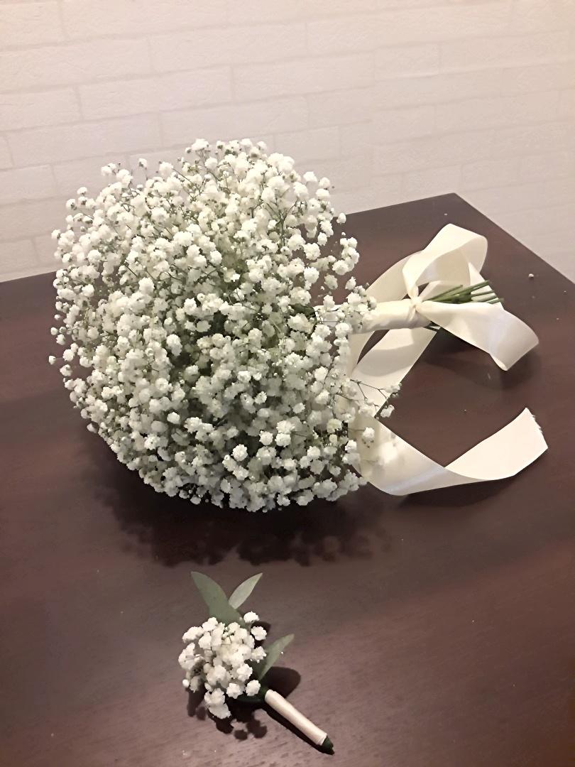 Свадебный букет в стиле Лофт