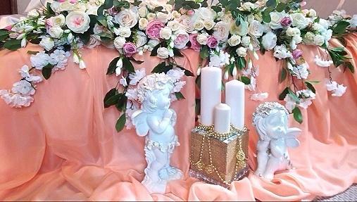 Цветочная композиция на свадьбу
