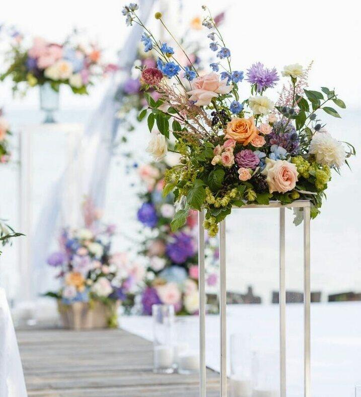 Цветы для оформления свадьбы